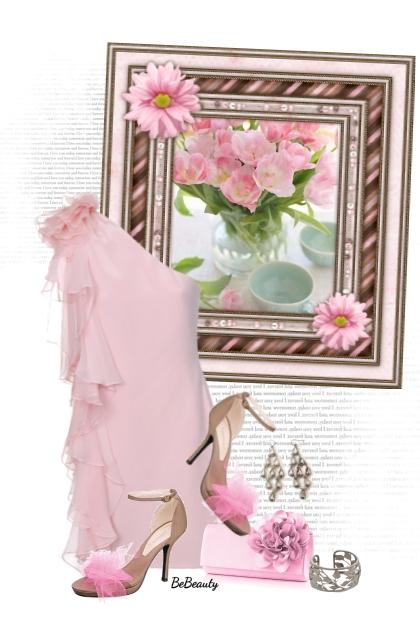nr 2640 - Light pink elegance