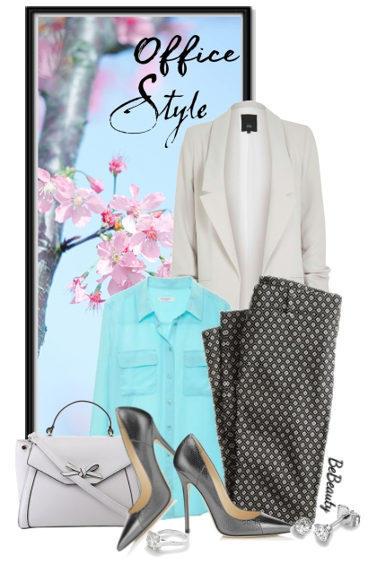 nr 2854 - Spring office style