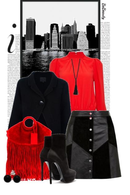 nr 2873 - Black & red