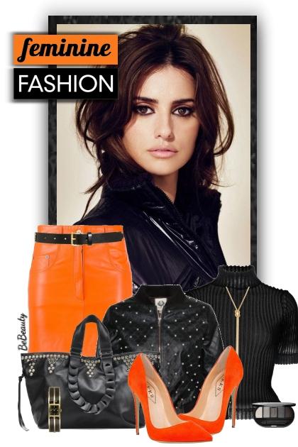 nr 2966 - Black & orange