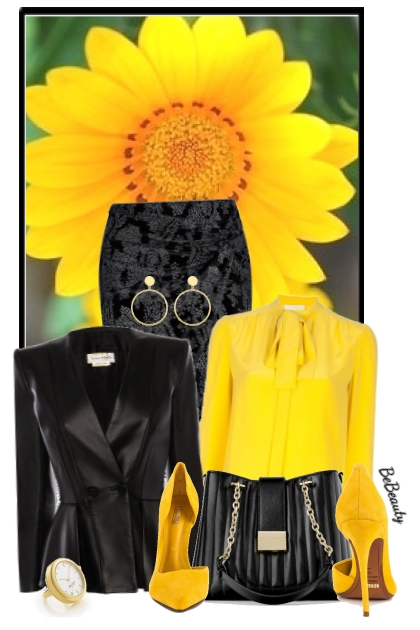 nr 2978 - Yellow & black