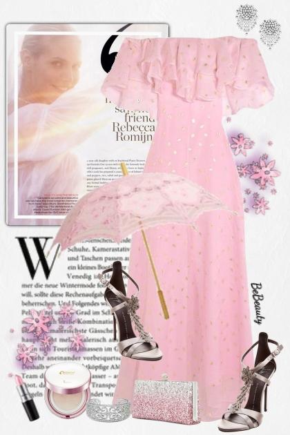 nr 2995 - Pastel pink
