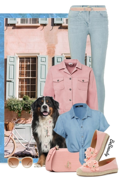 nr 3051 - Pink & blue