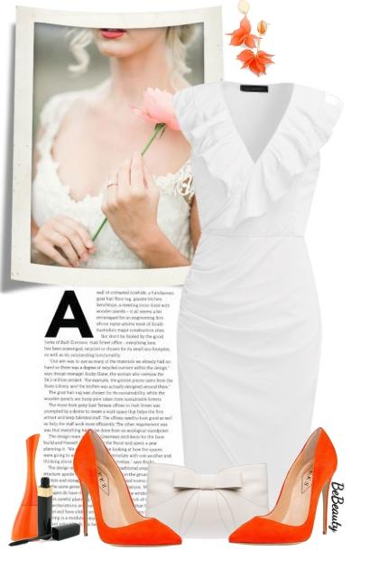 nr 3088 - A pop of orange- Modekombination