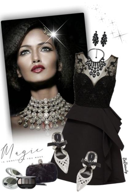 nr 3101 - Lady in black
