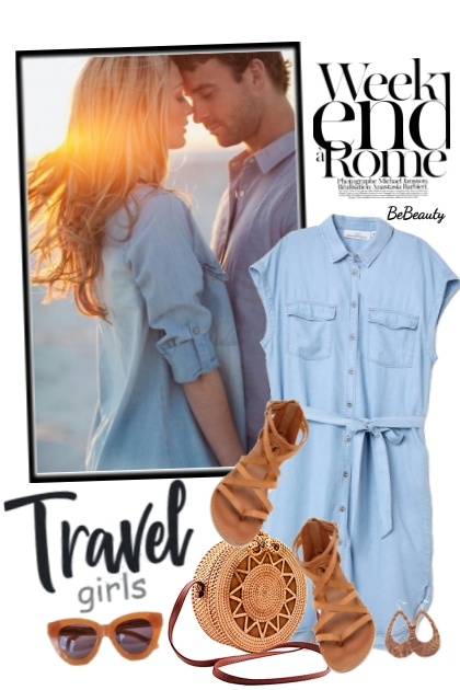 nr 3154 - Travel girl