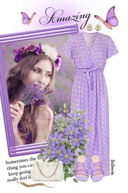 nr 3208 - Purple beauty