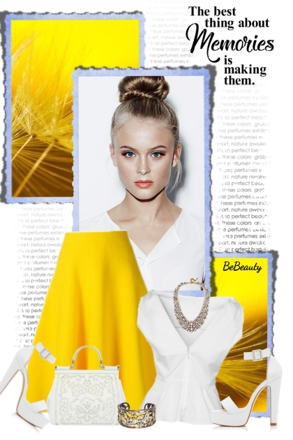 nr 3243 - White & yellow