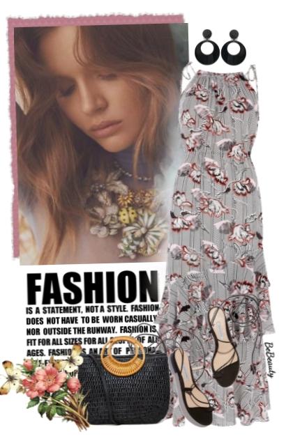 nr 3253 - Summer maxi dress