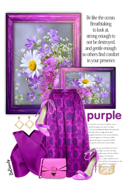 nr 3260 - Purple chic