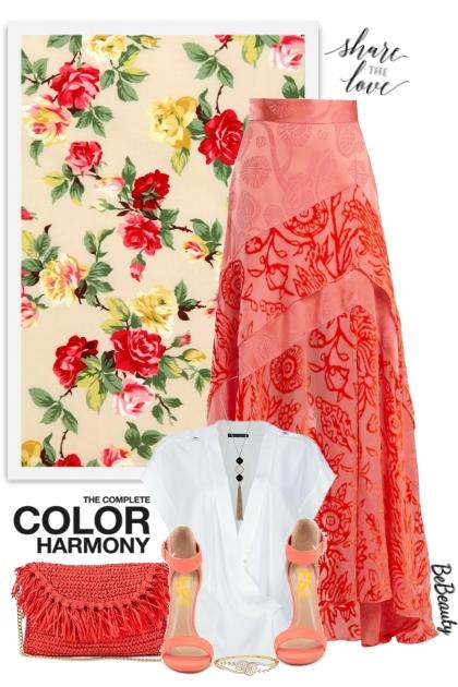 nr 3269 - Maxi skirt