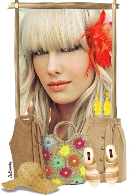 nr 3319 - Summer bag