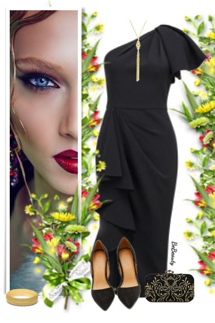 nr 3334 - Lady in black