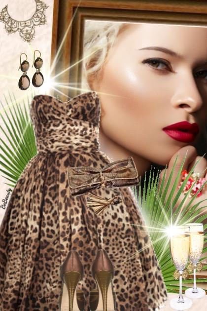 nr 3341 - Leopard print