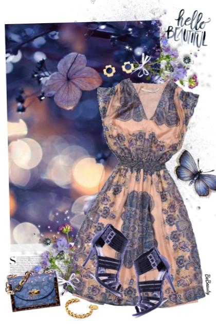 nr 3401 - Hello beautiful- combinação de moda