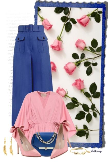 nr 3410 - Pink & blue