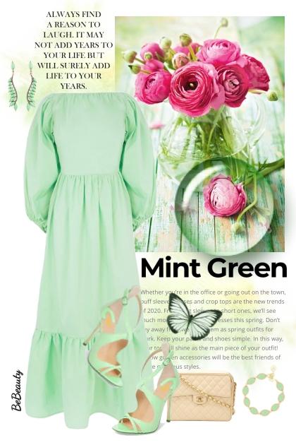 nr 3418 - Mint green