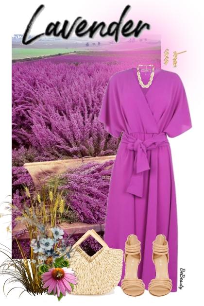 nr 3475 - Lavender fields
