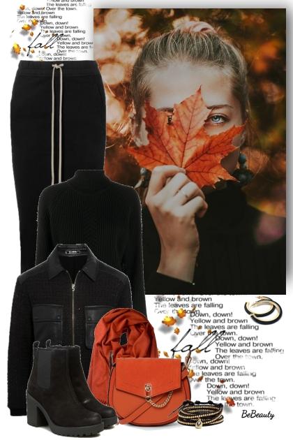 nr 3555 - Autumn girl