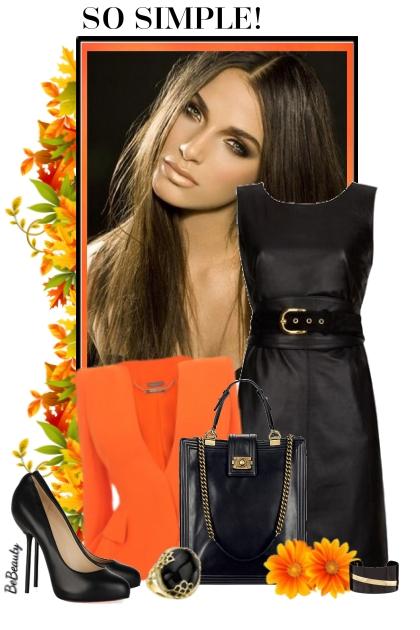 nr 3571 - Black & orange