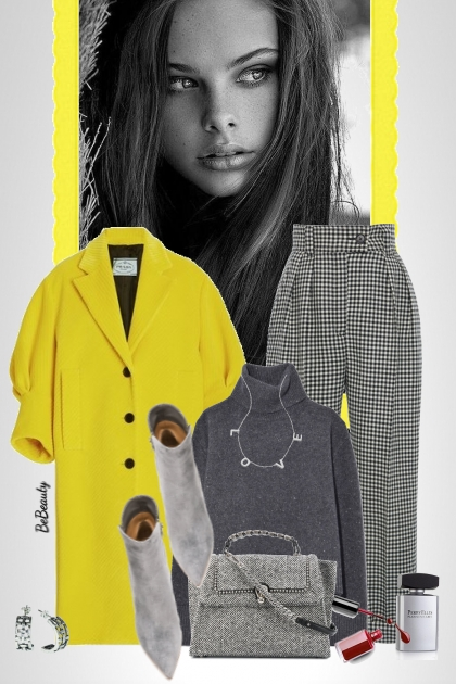 nr 3611 - A pop of yellow