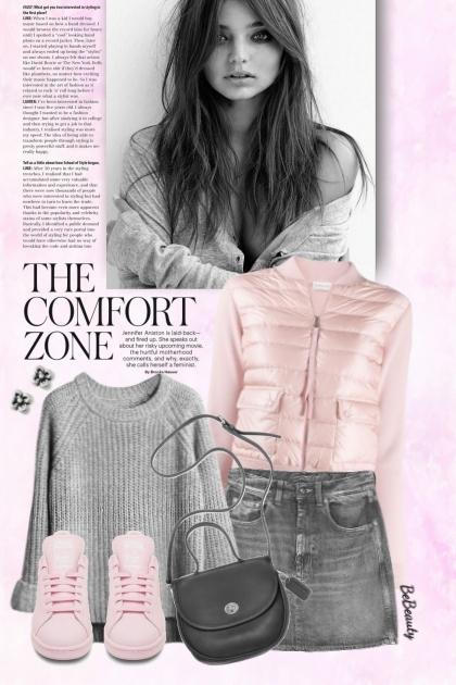 nr 3673 - Light pink & grey