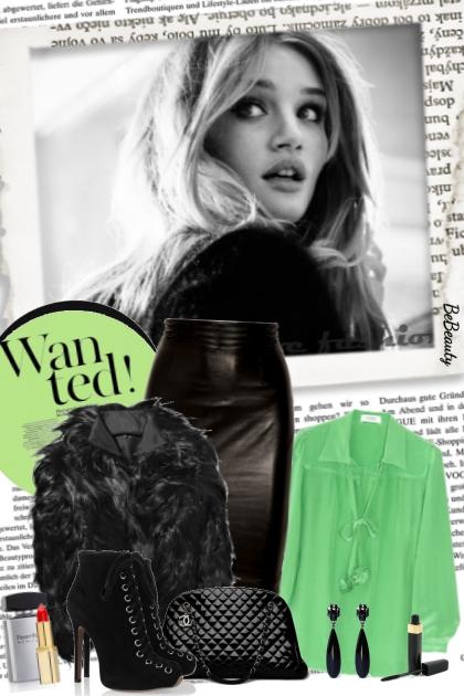 nr 3689 - A pop of green