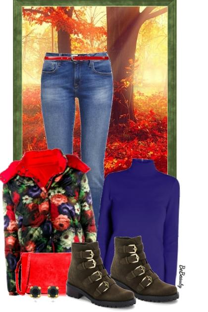 nr 3720 - Floral jacket