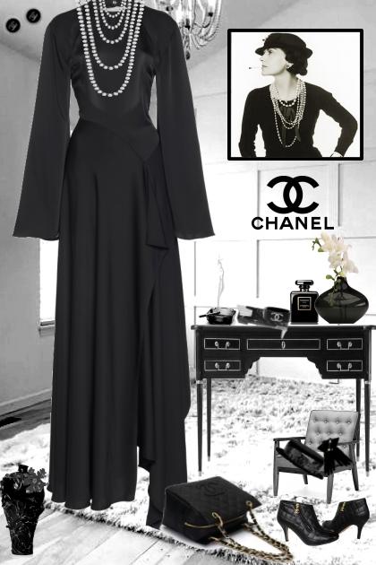 COCO  CHANEL- Fashion set