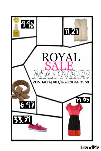 royal sale madness