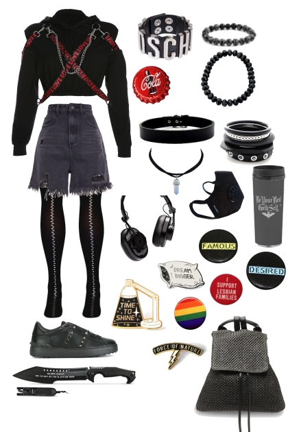 Goth?- Fashion set