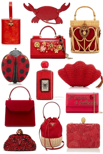 All red bags