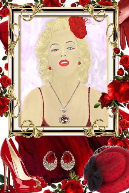 Marilyn Painting By Sivatira