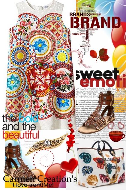 Journi's Dolce & Gabbana Summer Travel Outfit