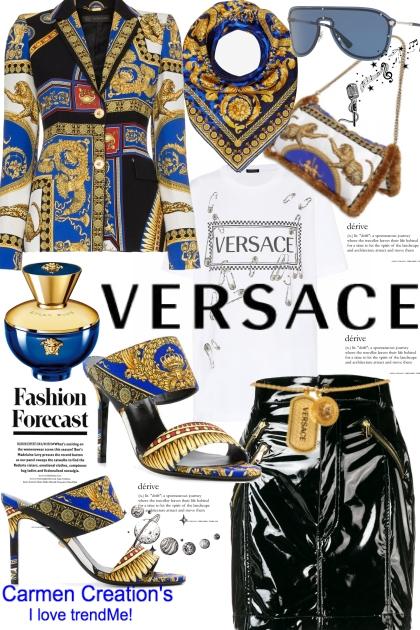 Journi's Versace Global Executive Work Outfit