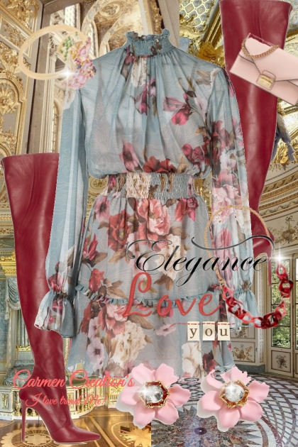 Journi's Elegance Madam Curator's Outfit