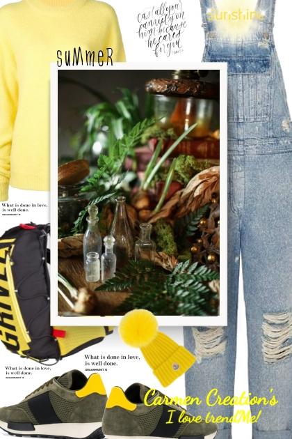 Journi's Botanical Garden Outfit