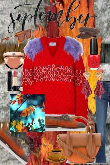 Journi's September Autumn Day Outfit- Kreacja