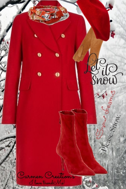 Journi's Snow Day Coat Outfit