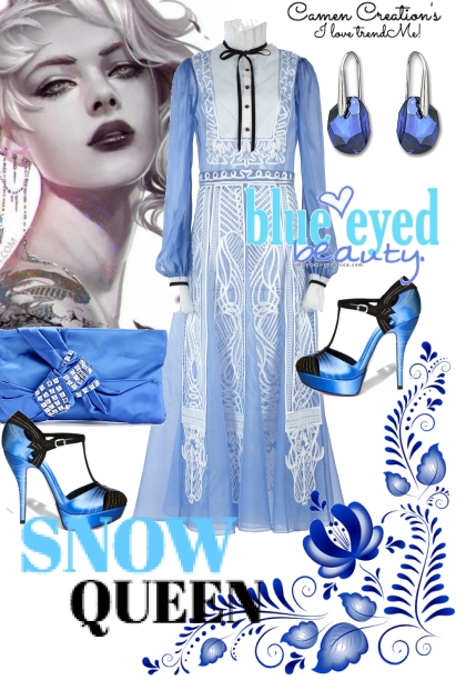 Journi's Snow Queen Outfit