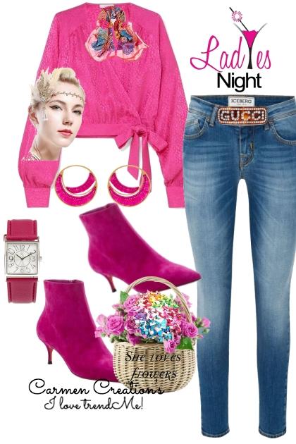 Journi's Ladies Night Outfit