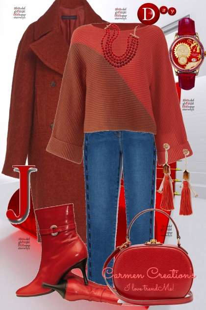 Journi's Winter Mall Shopping Outfit