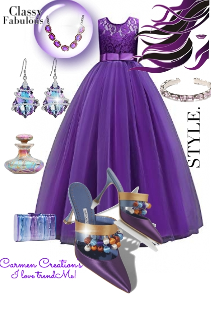 Journi's Ball Gown Outfit
