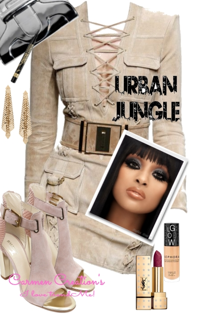 Journi's Urban Jungle Outfit