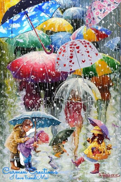 Journi's Rainy Day Art Expression