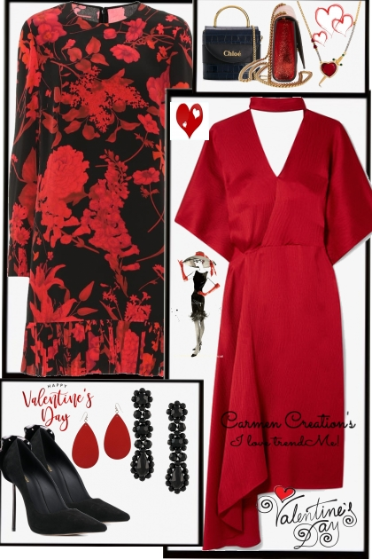 Journi's Valentine's Day Outfits