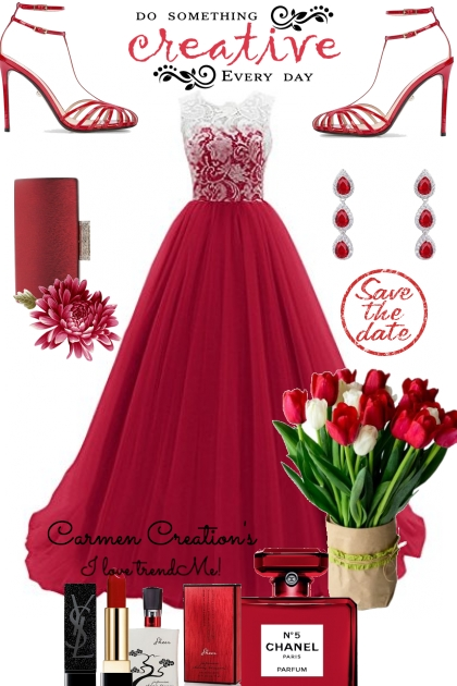 Journi's Elegant Valentine Dinner Outfit