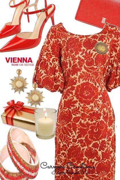 Journi's Vienna Fashion Show Outfit