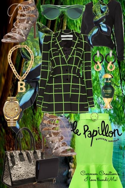 Journi's Paris Fashion Editor Outfit