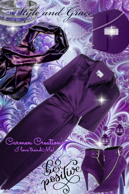 "Journi's Millennial Purple Outfit 2 ""For Contest"""
